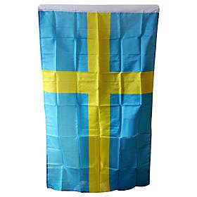 Terylene Sweden National Flag