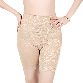 Cotton Mid Thigh High Waist Shaper Briefs
