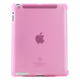 Protective Translucent TPU Case Compatible with Original Smart Cover for Apple The New iPad