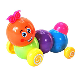 Multicolor Carpenterworm Toys
