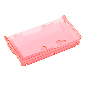 Crystal Case for Nintendo DS and 3DS (Red)
