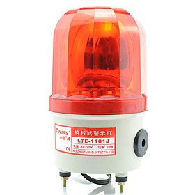 Rotating Warning Light with Screw Base and Sound
