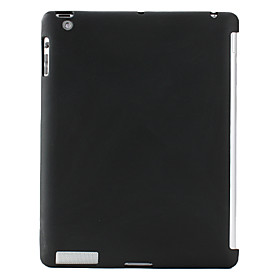 Solid Back Case Cover Compatible with Original Smart Cover for Apple The New iPad