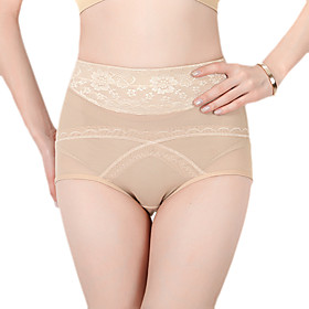 Cotton High Waist Shaper Briefs