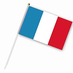Nylon France Flag (30 x 14 cm)