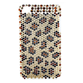Plum Blossom Spot Style Diamond Case for iTouch 4