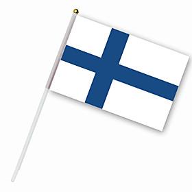 Nylon Finland Flag (30 x 14 cm)