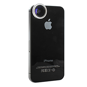 2-in-1 0.68x Wide-angle and 4x Macro Magnet Lens for iPhone, iPad  Other Cellphone