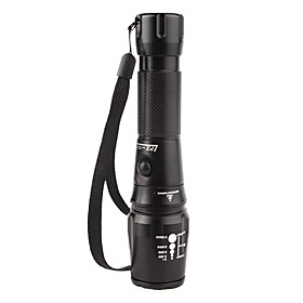 5W CREE LED 1200LM Flashlight XM-LT6