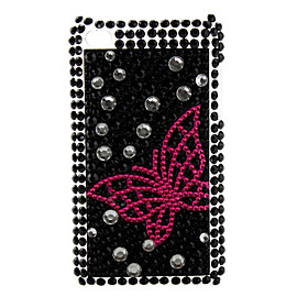 Butterfly Style Diamond Case for iTouch 4