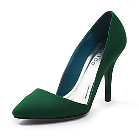 Suede Stiletto Heel Pointy Toe Pumps Party / Evening Shoes (More Colors Available)
