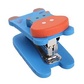 Cartoon Animal Mini Wooden Stapler (Assorted Colors)