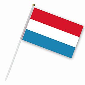 Nylon Nederland Flag (30 x 14 cm)