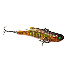 Hard Bait Vibration 90MM 28G Sinking Plastic Fishing Lure (Color Assorted)