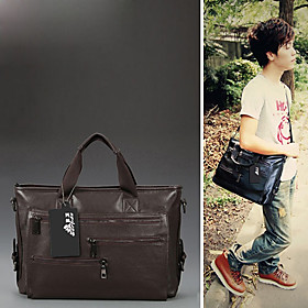Fashion Men's Business Casual Satchel/Crossbody Bag(41cm 6.5cm 29cm)