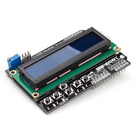 16 x 2 LCD Keypad Shield for Arduino Uno Mega Duemilanove
