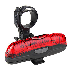 Bicycle Tail Light with 5 Super Bright LED