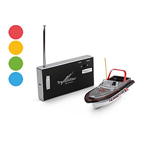 4-Channel Remote Control Mini IR Boat (Assorted Colors)