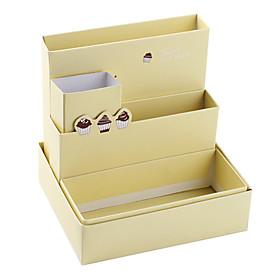 DIY Coffee Cake Theme Desktop Storage Box