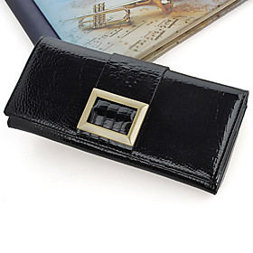 Ladies' Leather Long Wallet(19cm 2cm 9cm)