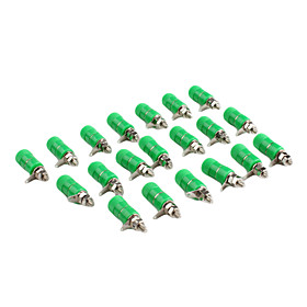 JL0325 Green 4mm 170Binding Post For Electronics DIY (20 Pieces a pack)