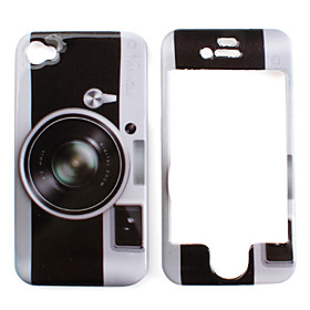 Camera-Design Protective Case for iPhone 4 and 4S (Assorted Colors)