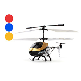 3-Channel Helicopter with Gyro Works with iOS and Android System (Assorted Colors)