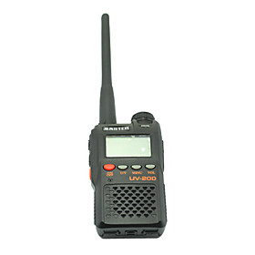 Dual Bands VHF and UHF FM Transceiver Walkie Talkie with FM Radio