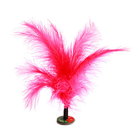 Small Shuttlecock Feather Kick Toy (Random Colors)