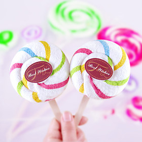 Lollipop Cake Towel - Set of 2 (Random Color)