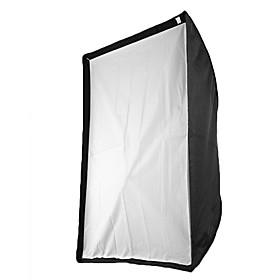 60 x 90cm Speedlight Flash Diffuser Reflective Umbrella Softbox