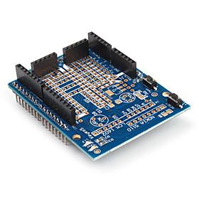 Prototyping Prototype Shield and Mini Breadboard for Arduino UNO