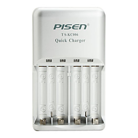 Pisen AA AAA Battery Quick Charger II