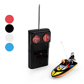 1:16 Fully Operational Miniature RC Racing Boat (Assorted Colors)