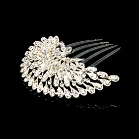 Gorgeous Rhinestone 1920s Hair Combs