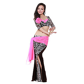 Dancewear Spandex With Animal Print