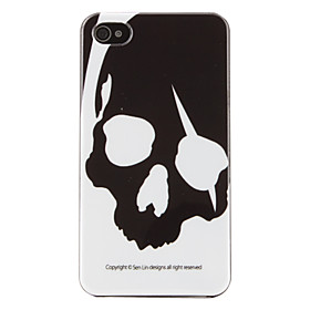 Skulls Pattern Hard Case for iPhone 4 and 4S (Multi-Color)