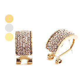 Rectangular Fashion Earrings (Assorted Colors)