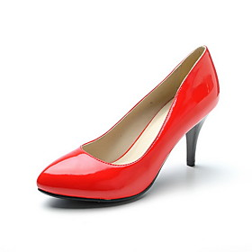 Patent Leather Stiletto Heel Closed Toe Pumps Party / Evening Shoes (More Colors)