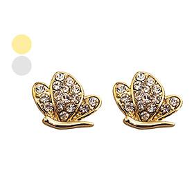 Butterfly Pattern Earrings (Assorted Colors)