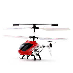 3-Channel RC Helicopter with Gyro Works with iOS and Android System (Red)