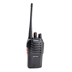 Portable Long Range 2-Way Radio with Scrambler and Emergency Alarm Receiver (Black)