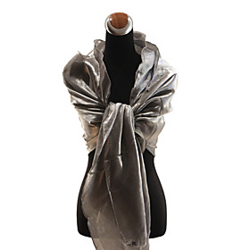 Elegant Satin Party / Evening Shawl