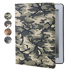 Camouflage Pattern Cases with Stand for The New iPad (Assorted Colors)