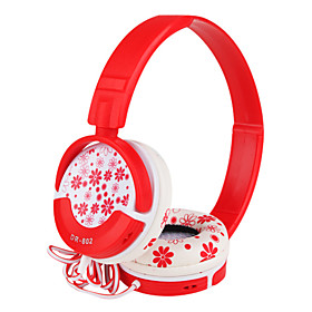 High Fidelity Flower Stereo Headband Headphones (3.5mm Jack/1.2m Cable)