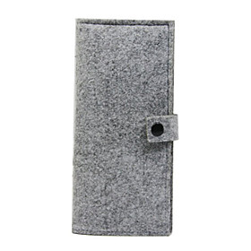 Long Felt Card Wallet
