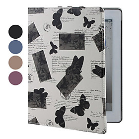 Butterflies Pattern Cases with Stand for The New iPad (Assorted Colors)
