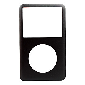 NEW Black Front Cover Panel for iPod Classic