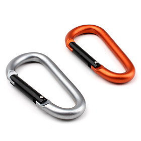 D Shaped Carabiner 7mm (Ramdon Color)