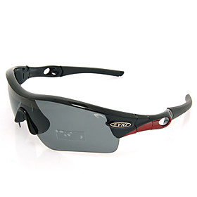 EYKI-Sport Glasses Cycling Glasses Eyewear with 5 Pcs UV400 Filtering and One Piece Lens (4 Color Available)